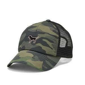 NEW VS PINK Camo Trucker hat